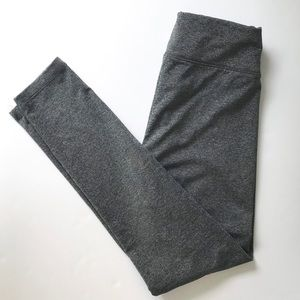 Girl's Justice full-length gray Leggings Sz 12